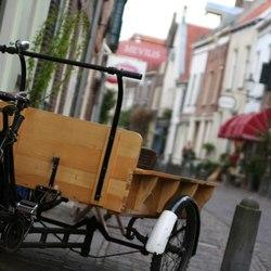 Bakfiets in Deventer