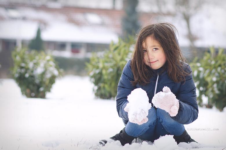 snowy day -