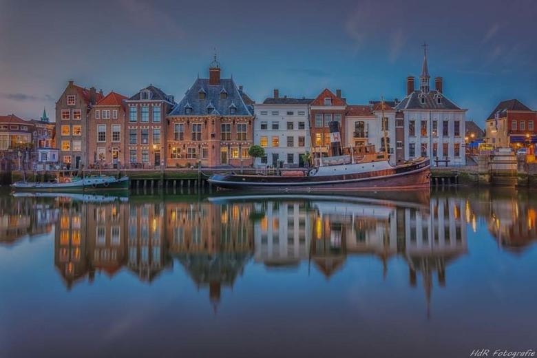Historische haven Maasluis