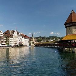 Kapelbrug Luzern.