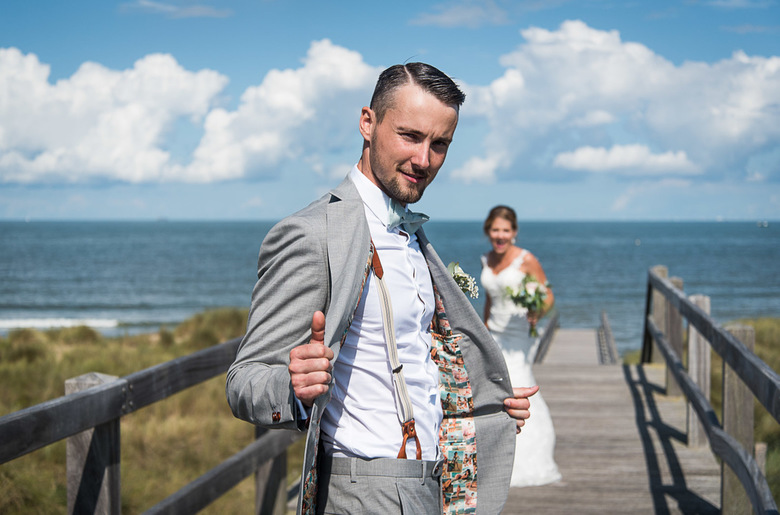 Wedding - at the beach -