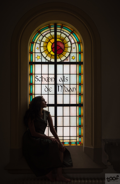 Schoon als de maan - Een mooie shoot in een voormalig klooster