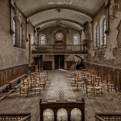 De scheve kerk