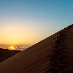 Marokko zonsondergang