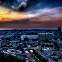 Zonsondergang Den Haag (HDR)