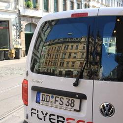 Spiegeling in Dresden