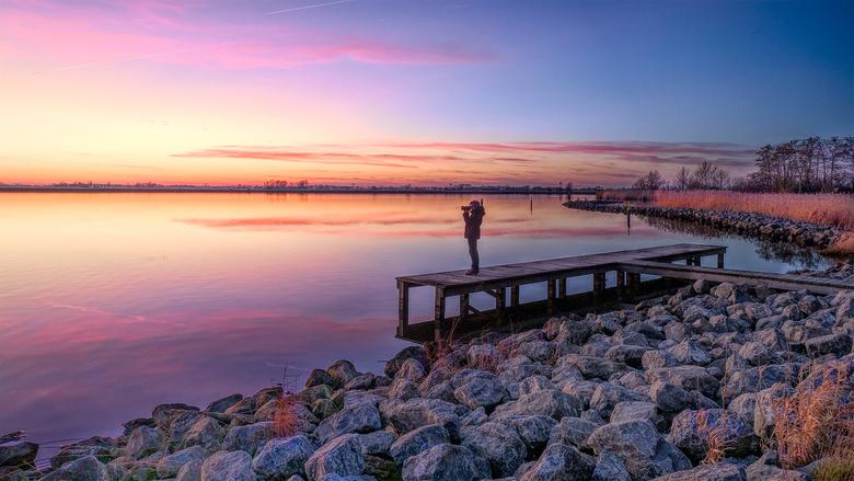 Zonsondergang - Schildmeer