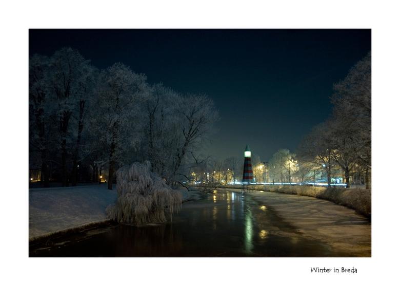 Winter in Breda - Tja de titel zegt alles geloof ik...<br /> <br /> <br /> sluitertijd 2 sec