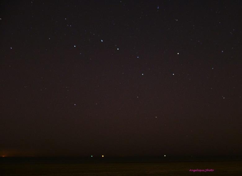 Strand met sterren