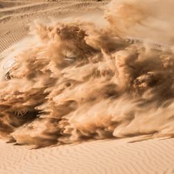 Breaking through the dunes