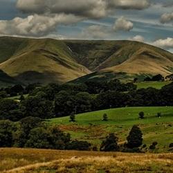 Scottish mountains.