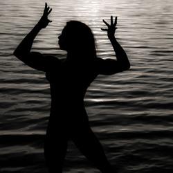 gespierd silhouette