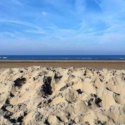 Februari strandweer