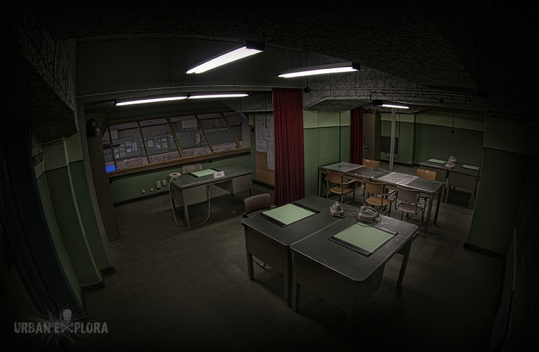 Cold war bunker