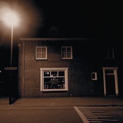 Antiek at night...
