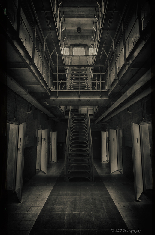 _DSC9661_HDR - Prison Stairs