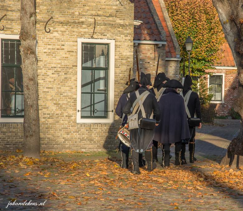 Bourtange, soldaten - Welkom in het jaar 1742!<br /> Vlakbij de Duitse grens, in het prachtige Westerwolde (Zuid-Oost Groningen),ligt de vesting Bour