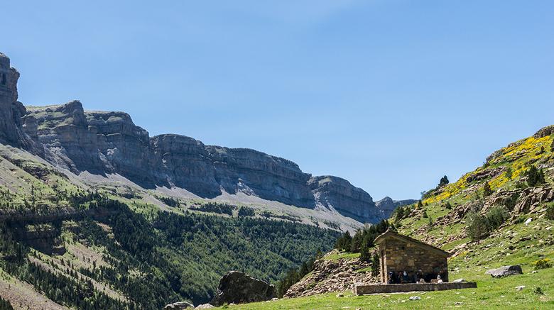 Ordesa 2 - De Ordesa in de Spaanse Pyreneeën. Een van de allermooiste plekjes in de Pyreneeën en misschien wel Europa. <br /> Wat ik mooi vind is het