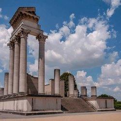 Romeinse haventempel in Xanten-3