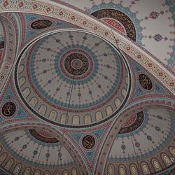Plafond van een Moskee