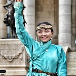 Traditional Mongolian Woman
