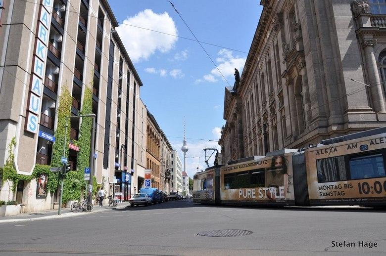 Tram in Berlijn