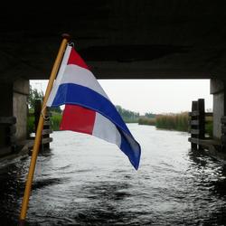 Lekker varen door het NL landschap.
