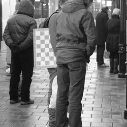 Check mate >> Station Hilversum - Jan. 2013