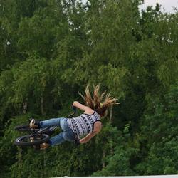 Bmx stuntfietsen