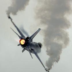 F-16 Demo Belgische Luchtmacht