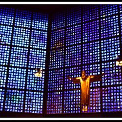 Altaar van de nieuwe kerk(Berlijn)