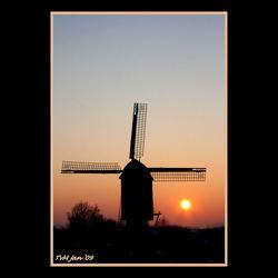 zonsondergang in Nederrasselt