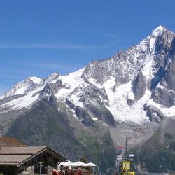 Toppen rond Chamonix