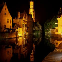 Brugge by night.