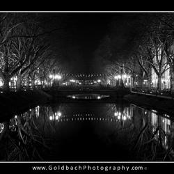 Dusseldorf @ night