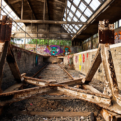Verlaten Station