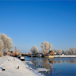 winter in de haven.