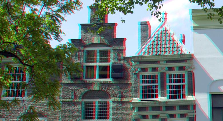 Grachtpanden Utrecht 3D - Grachtpanden Utrecht 3D