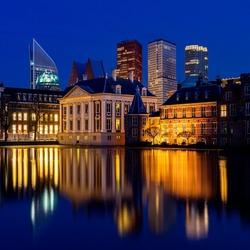 Den Haag centrum - het Binnenhof aan de hofvijver