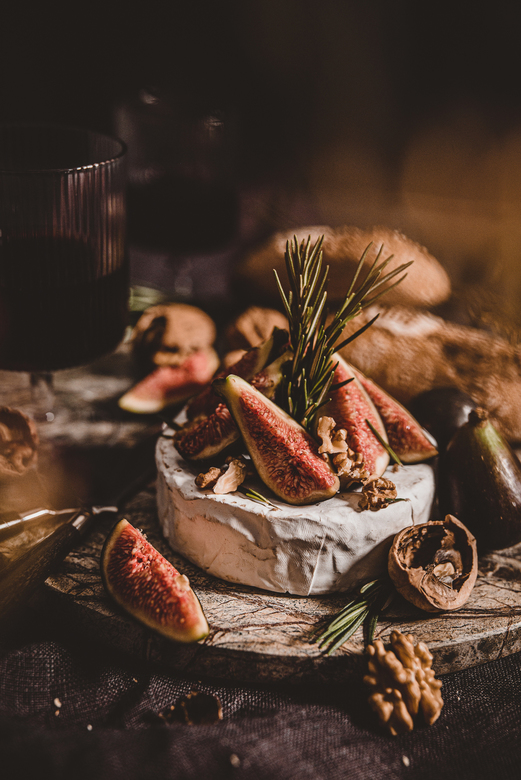 Cheese & figs -