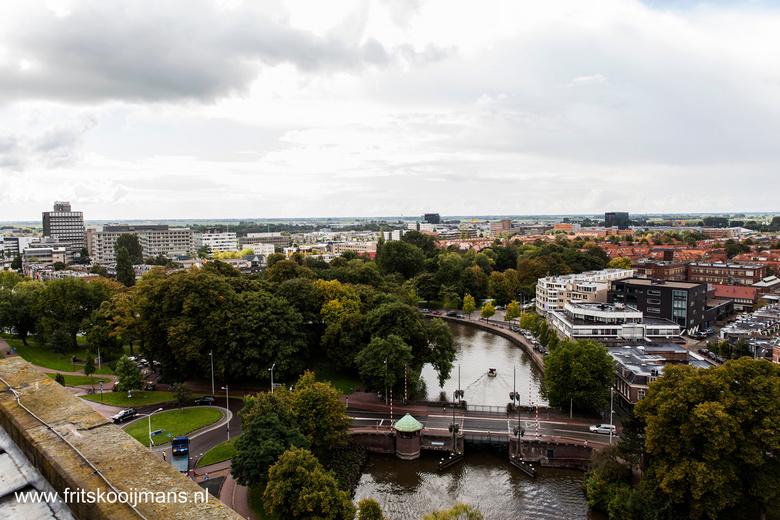 Uitzicht van de Oldehove in Leeuwarden - 201408314034 Uitzicht van de Oldehove in Leeuwarden