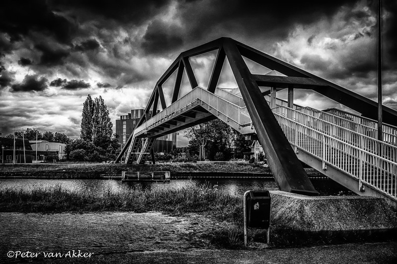 Frankhuisbrug Zwolle, Canon Eos 80D, ISO 200, f/8.0, 1/125, 20mm200 -