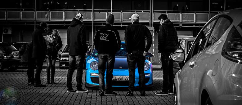 BabyBleu Porsche!