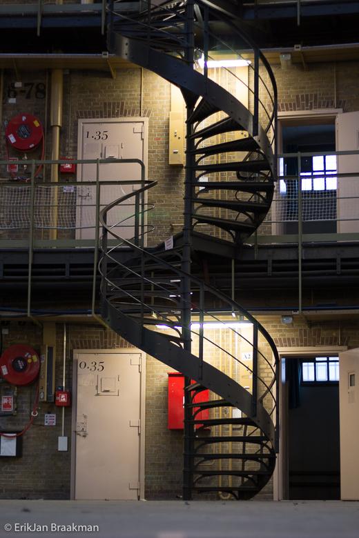 Eindeloos - Voormalige koepelgevangenis in Haarlem tijdens een open dag voor fotografen.
