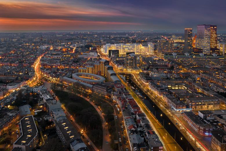 Den Haag vanuit de hoogte