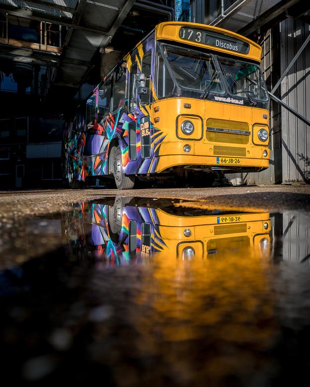 De verlaten discobus
