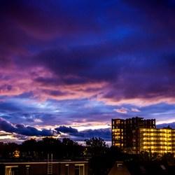 laatste avondlicht