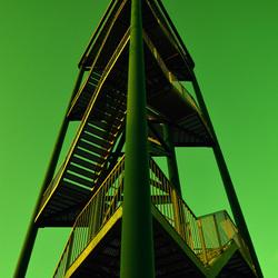 Groene toren.