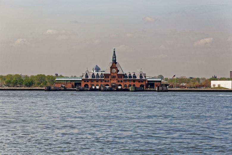 Ellis Island - Ellis Island, helaas was dit gesloten toen wij er waren vanwege herstel werkzaamheden na Sandy.