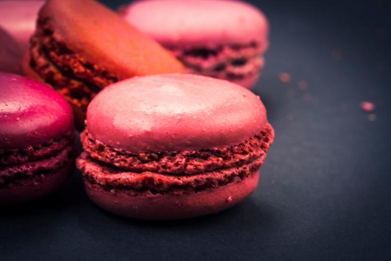 Macarons - Gekleurde Franse Macarons